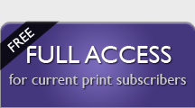 Full Access - for current print subscribers